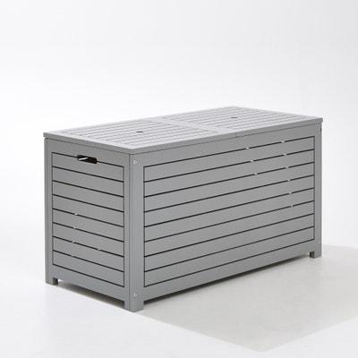 Outdoor Acacia Rectangular Storage Box Outdoor Acacia Rectangular Storage Box LES PETITS PRIX