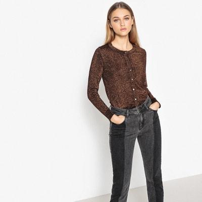 Metallic Style Cardigan MADEMOISELLE R