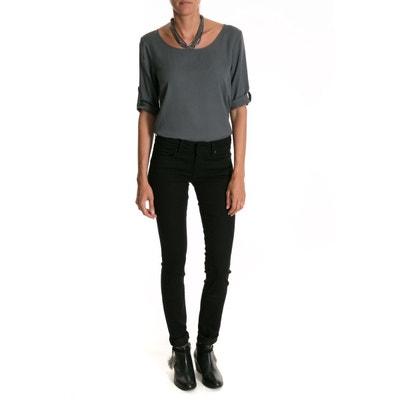 Jeans Wonder Push Up True Black, taille moyenne SALSA