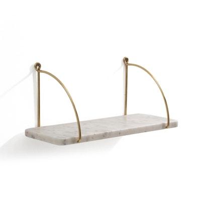 Fitia Metal/Marble Shelf Fitia Metal/Marble Shelf La Redoute Interieurs
