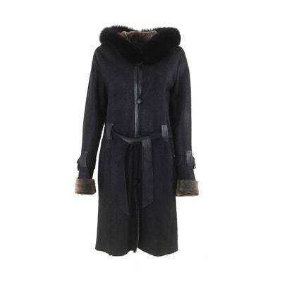 9dbb7129c6646 Manteau femme imitation peau de mouton en solde   La Redoute