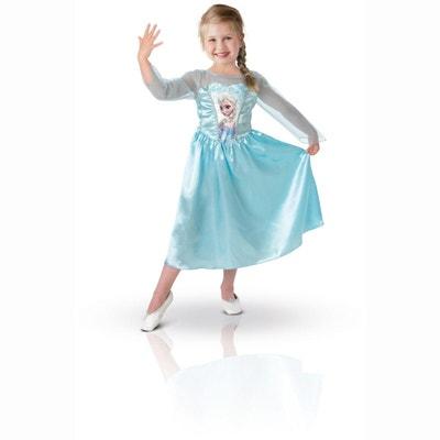 Déguisement La Reine des Neiges (Frozen) : Elsa : 3/4 ans LA REINE DES NEIGES
