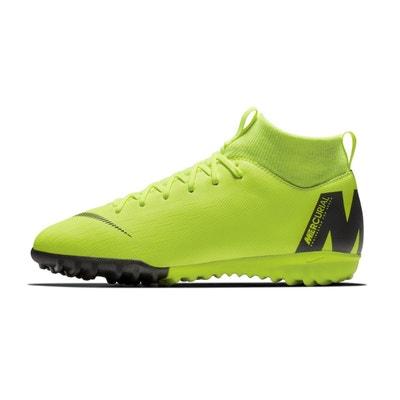 Chaussures football Nike MercurialX Superfly XI Academy DF TF Jaune Junior Chaussures football Nike MercurialX Superfly XI Academy DF TF Jaune Junior NIKE