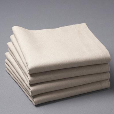 Tovaglioli da tavolo misto lino/cotone BORDER La Redoute Interieurs