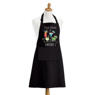 Tablier Cuisine Noir En Solde La Redoute