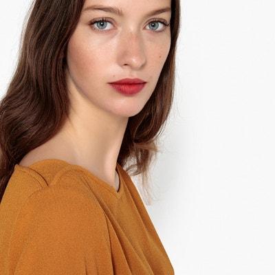 Blusa com racha de lado, detalhe no ombro Blusa com racha de lado, detalhe no ombro La Redoute Collections
