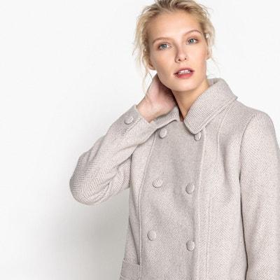 Пальто с двойной застежкой на пуговицы Пальто с двойной застежкой на пуговицы MADEMOISELLE R