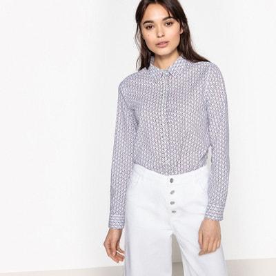 Straight Cut Printed Shirt BENETTON