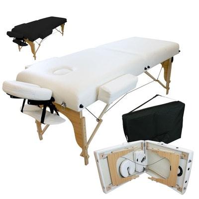 Table de massage 13 cm pliante 2 zones en bois avec panneau Reiki +  Accessoires et 40273e8b1c76