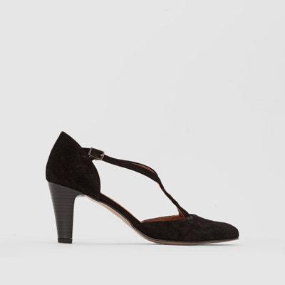 Sandales brides métallisées - ANNE WEYBURN - NoirAnne Weyburn LT3iAR