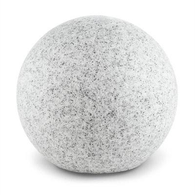 Shinestone XL Lampe de jardin ronde 50cm Style pierre Shinestone XL Lampe de jardin ronde 50cm Style pierre LIGHTCRAFT