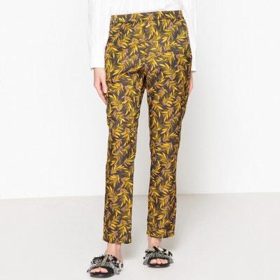 Pantalon droit imprimé taille élastique FUN MOMONI