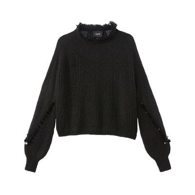 Пуловер из тонкого трикотажа Пуловер из тонкого трикотажа SCHOOL RAG