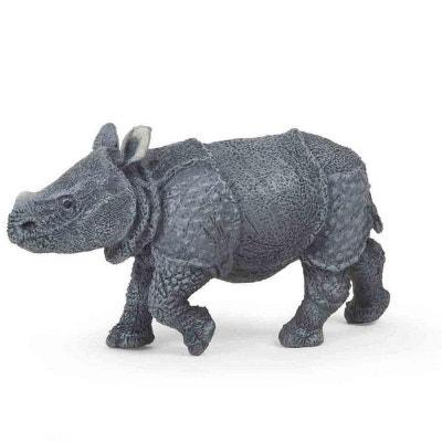 Figurine rhinocéros indien : Bébé PAPO