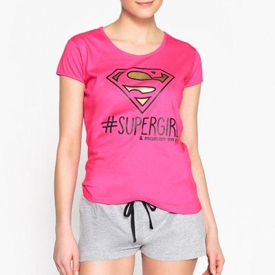 Superman Printed Cotton Short Pyjamas DC COMICS