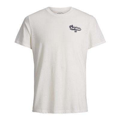 Koszulka, okrągły dekolt, krótki rękaw Koszulka, okrągły dekolt, krótki rękaw JACK & JONES