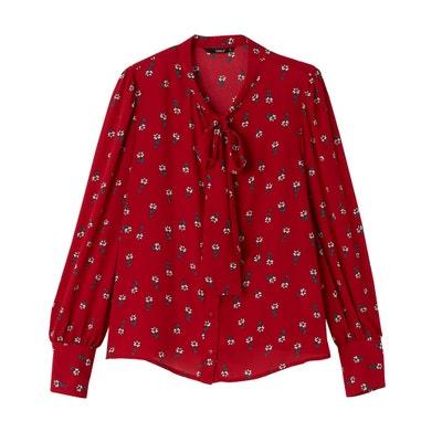 Camicia lavallière fantasia a fiori ONLY