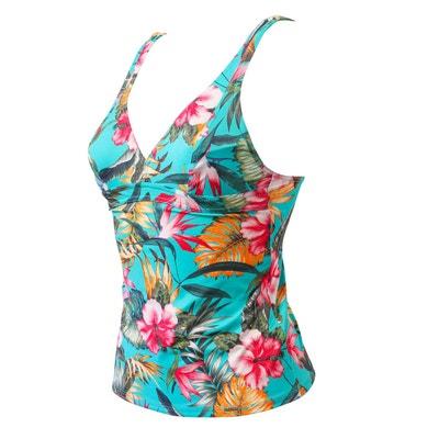 Haut de maillot de bain tankini Livia en solde   La Redoute 2b18783b4139