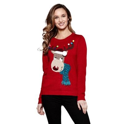 Reindeer Christmas Fine Knit Jumper Reindeer Christmas Fine Knit Jumper YUMI