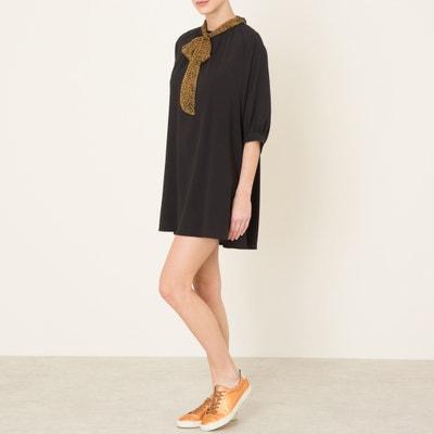 Платье струящееся с платочным рисунком Платье струящееся с платочным рисунком SISTER JANE