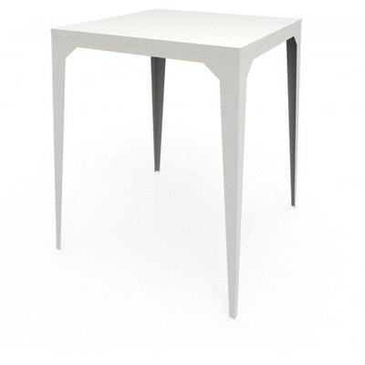 table haute blanc la redoute. Black Bedroom Furniture Sets. Home Design Ideas