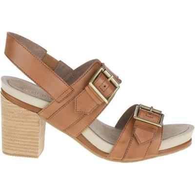Leonie Leather Sandals Leonie Leather Sandals HUSH PUPPIES