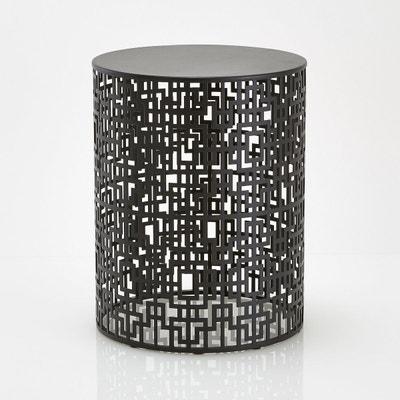 Bout de canapé en métal ajouré, GUEISHI Bout de canapé en métal ajouré, GUEISHI La Redoute Interieurs