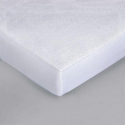 Alèse forme housse en molleton pur coton pour matelas bébé Alèse forme housse en molleton pur coton pour matelas bébé La Redoute Interieurs