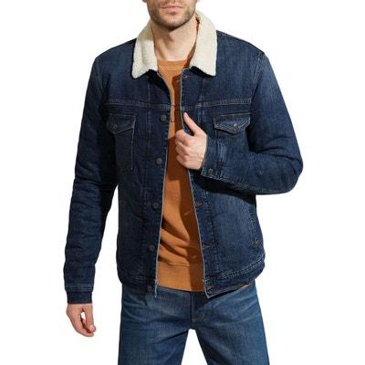 Veste Sherpa en jeans Veste Sherpa en jeans SOLID 2d29cdd1b088