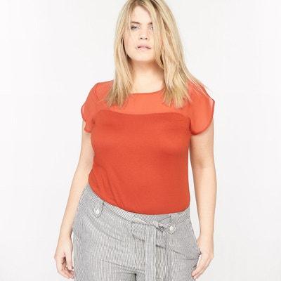 T-shirt bi-matière manches courtes T-shirt bi-matière manches courtes CASTALUNA
