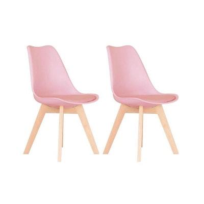 chaise scandinave rose - Chaise Scandinave Rose