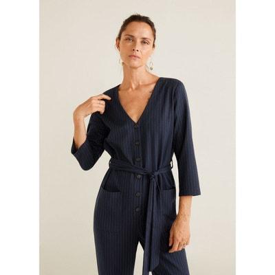Combinaison-pantalon à rayures Combinaison-pantalon à rayures MANGO 496bdcdfae1e
