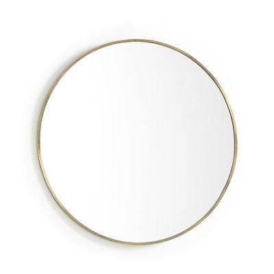 Espelho de metal dourado Ø80 cm, Caligone Espelho de metal dourado Ø80 cm, Caligone AM.PM.