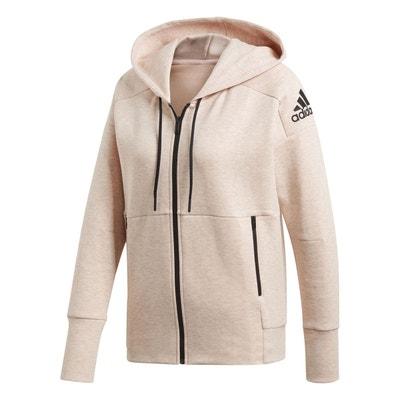 Veste adidas rose en solde   La Redoute a22d44b4d1aa