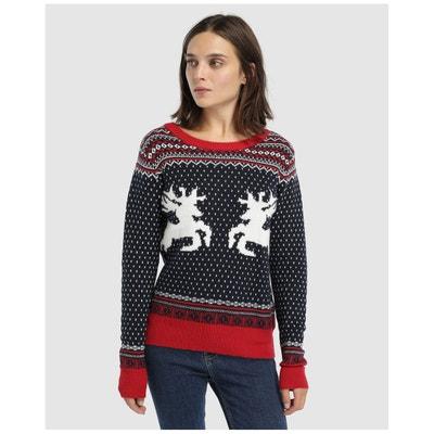 Pull à manches longues et motif de Noël Pull à manches longues et motif de Noël EASY WEAR