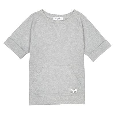Sweatshirt mit kurzen Ärmeln, 3-12 Jahre Sweatshirt mit kurzen Ärmeln, 3-12 Jahre La Redoute Collections