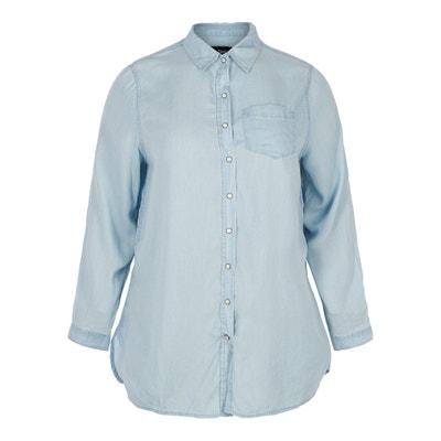 Koszula dżinsowa z długim rękawem Koszula dżinsowa z długim rękawem ZIZZI