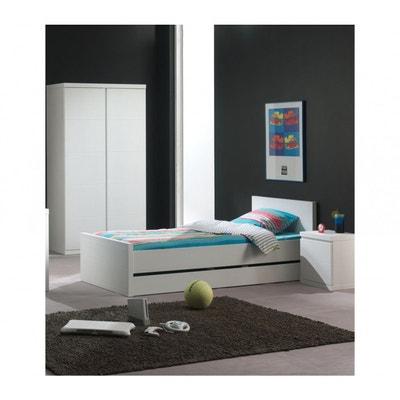 Chambre a coucher blanc laque | La Redoute