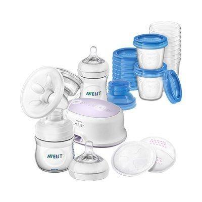 PHILIPS AVENT L'ensemble d'allaitement avec tire-lait électrique, SCD223/00,... PHILIPS AVENT