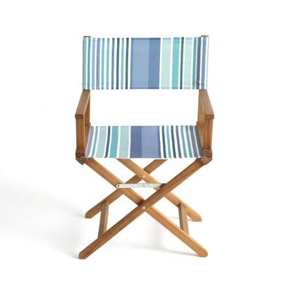 Cadeira de realizador, especial exterior Cadeira de realizador, especial exterior La Redoute Interieurs