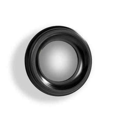 Espejo redondo Habel con la marco negro, diámetro 40 cm Espejo redondo Habel con la marco negro, diámetro 40 cm AM.PM.
