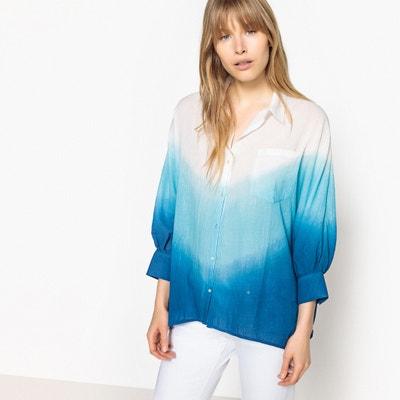 Bawełniana koszula w stylu tye and dye La Redoute Collections