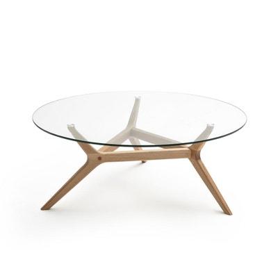 Table basse chêne Ø90 cm, Maricielo AM.PM