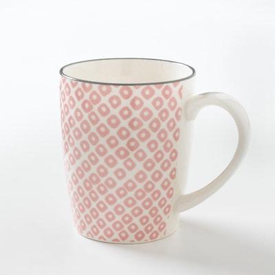 Lot 4 mugs en porcelaine, AKIVA Lot 4 mugs en porcelaine, AKIVA La Redoute Interieurs