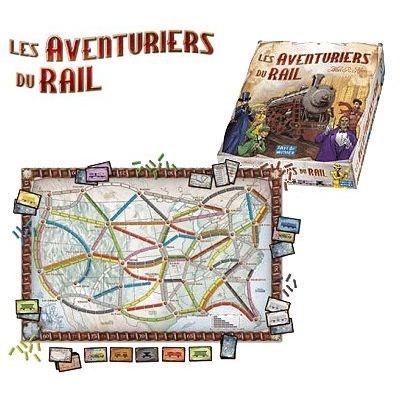 Les Aventuriers du Rail Les Aventuriers du Rail ASMODEE