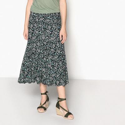 Floral Print Midi Skirt ANNE WEYBURN