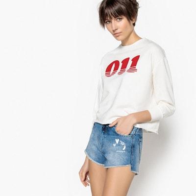Slogan Sweatshirt La Redoute Collections