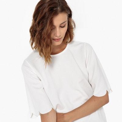 Bluse mit 3/4-Ärmeln und Teilungsnaht Bluse mit 3/4-Ärmeln und Teilungsnaht BERANGERE