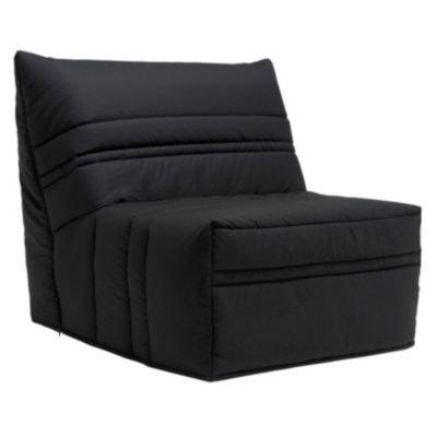 chauffeuse noire en solde la redoute. Black Bedroom Furniture Sets. Home Design Ideas