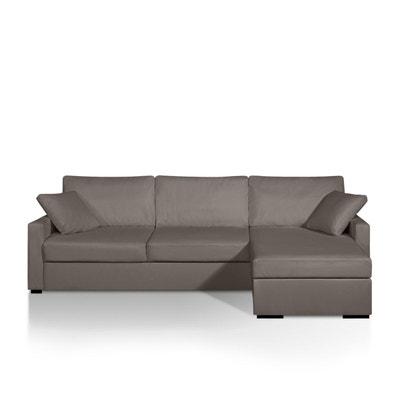 Canapé d'angle lit, simili, bultex, Timor La Redoute Interieurs